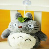 厂家直销创意毛绒玩具公仔龙猫吸盘挂件娃娃婚庆礼品