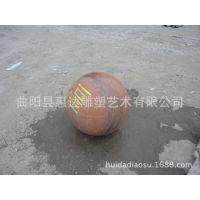 加工石雕广场路桩摆件 车止球桩 花岗岩30-80cm圆球看球批发lz-2