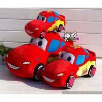 批发小汽车总动员公仔毛绒玩具闪电麦昆麦坤毛绒汽车赛车