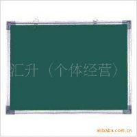 告示板照片墙90*180包布豪华铝框软木板  绿色