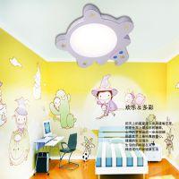 厂家直销批发儿童房灯LED吸顶灯儿童灯具卧室灯卡通灯饰6066