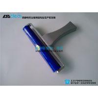 供应厂家直销 矽胶粘尘滚轮 塑铝柄硅胶滚轮 粘尘滚筒 机用滚筒