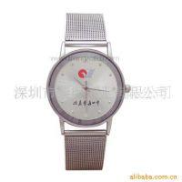供应优质不锈钢钟表(图) 钢织带手表 石英表
