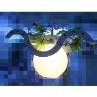 现代时尚简约创新灯具个性卧室吊灯单头实木田园风格餐厅灯新款
