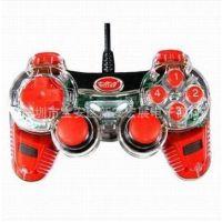 供应厂家直销 惠康WE-831S 双震动电脑游戏手柄 雄狮游戏手柄 带LED灯