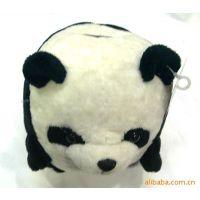 供应毛绒熊猫音乐存钱罐,存钱筒,存币罐,硬币罐,儿
