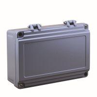 铝制合页防水盒 铸铝仪表盒 220*155*95mm合页铝机箱盒