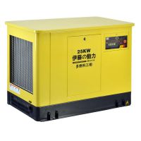 25KW静音汽油天然气发电机