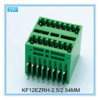供应插拔式接线端子针套KF12EZRH 弯针 间距2.50mm或2.54mm