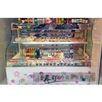 供应敞开式寿司展示柜 保鲜柜冷藏柜风幕柜水果柜寿司柜 风冷