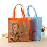 韩国娃娃卡通可爱儿童补习袋 手提补课包