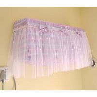 温婉花镜紫色系列挂壁式空调罩空调套