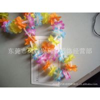 【厂家直销】玩具礼品花串,LED灯串,夏威夷风情花环