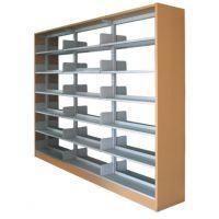 供应'恩科'优质图书馆书架,环保钢制书架厂家直销