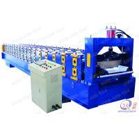 彩钢瓦压瓦机设备 暗扣式彩钢瓦成型机:YX71-380-760