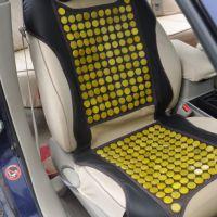 天然黄玉加热汽车坐垫 主驾驶/副驾驶玉石坐垫 厂家直销