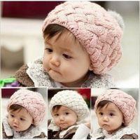 D204儿童帽子婴儿帽苹果蛋糕贝雷帽子秋冬季韩版时尚帽子特价微店