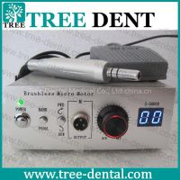 TR-M106 Hot 50,000 RPM Non-Carbon Brushless Dental Micromotor Polishing Unit+ Handpiece Fit Marathon Aluminium Shell