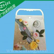 【卓然包装】广州厂家供应订做PP塑料片材手提袋 高档服装PP包装