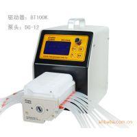 流量型蠕动泵BT300K/泵头YX1515x:流量与电机转速同屏显示