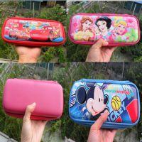新款迪士尼米奇 公主 汽车总动员麦昆系列笔盒 卡通EVA文具盒