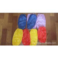 厂家低价供应优质精美广告促销PVC防水袖套 围裙