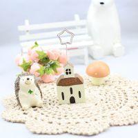 日韩杂货 创意家居 送你一座小房子 照片夹 名片夹 便条夹