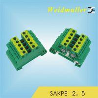 供应魏德米勒 接线端子排 接地 SAKPE2.5 原装正品 放心购买