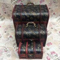 大复古木盒 古董手饰盒 家居摆件 首饰盒批发 名片盒子 厂家直销