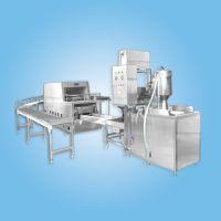 供应中央厨房设备800型米饭生产线 自动炊饭线 米饭设备(YRCG-800)