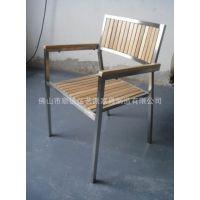 供应热销新款实木椅展会可堆叠休闲高档西餐厅酒店不锈钢椅子高档家具