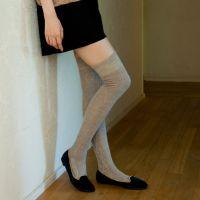 提供速卖通数据包 热卖 W3321外贸菱形纹堆堆袜 棉料中筒袜0.105