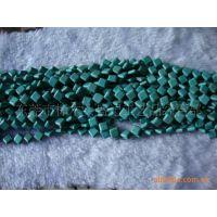 10*10*4mm对角孔正方形绿松石 宝石 时光宝石 绿松石