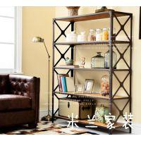 简易书架实木宜家创意花架储物架