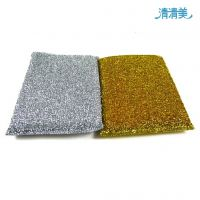 清清美QM1706洗刷王/竹纤维洗碗棉棉/刷碗海绵/竹纤维洗碗块刷