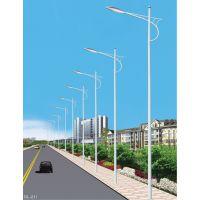 厂家热销9米热镀锌喷塑路灯杆 8米路灯杆 10米路灯杆