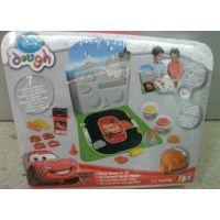 正品disney彩泥套装 无毒橡皮泥套装益智儿童玩具汽车总动员