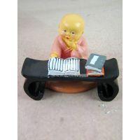 创意礼品摆件 树脂小和尚SW760H  树脂娃娃