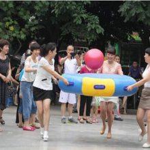 郑州正品众星捧月趣味运动会器材 多人雷霆战鼓充气玩具 体育拓展比赛项目