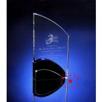 基金投资年终水晶奖牌 代销机构年会奖牌 财通基金管理奖牌