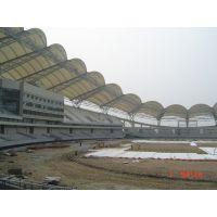 湖北体育PTFE张拉膜设计、膜结构看台