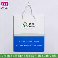 专业定制中高端服装纸袋 单铜手提纸袋定做 人才市场纸袋订做