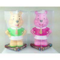 儿童学生学校礼品 迪士尼维尼熊塑料存钱罐零钱罐 维尼熊存钱罐