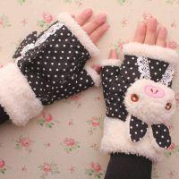偶像韩国文具 可爱多款混发学生冬季保暖手套
