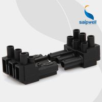 SP-A16/30灯具接线端子 加热器接线端子 插拔式公母连接端子