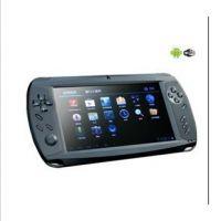 新款7寸电容屏平板智能游戏机psp安卓4.0PS 双摄像头 WIFI