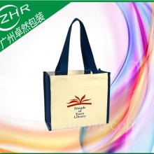 【卓然包装】电视剧宣传帆布袋 报纸杂志宣传广告袋 烫画热转印刷袋子