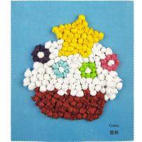 炫彩斑斓搓纸画 DIY手工揉纸画幼儿礼物幼儿园手工制作材料0.03