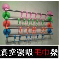 厨房卫浴多功能6个挂钩 超强吸力吸盘强力粘勾挂钩 毛巾挂