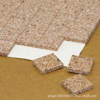 供应特殊钢化玻璃软木垫片 中空玻璃保护隔离玻璃软木垫片